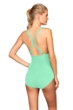 La Blanca Seafoam Cross Back One Piece Swimsuit