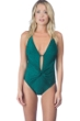 La Blanca Spruce It Up Twist Front Lingerie Strap One Piece Swimsuit