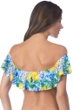 La Blanca Limoncello Off The Shoulder Flounce Bandeau Bikini Top