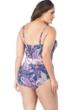 La Blanca Scarf Gypsy Plus Size V-Neck Tie Side Surplice One Piece Swimsuit