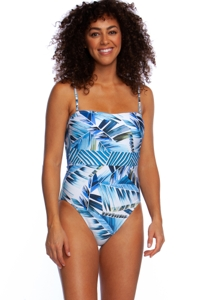 La Blanca Two Cool Bandeau One Piece Swimsuit