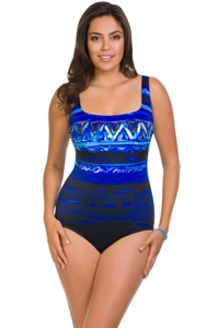 Longitude Havana Cabana X-Back One Piece Swimsuit