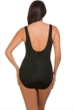 Longitude Shirring Chic High Neck One Piece Swimsuit