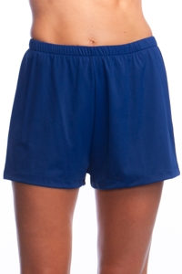 Maxine of Hollywood Navy Jogger Short Swim Bottom