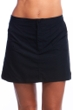 Maxine of Hollywood Black Woven Board Skirt Swim Bottom