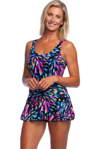 Maxine of Hollywood Sparkler Princess Seam Swimdress