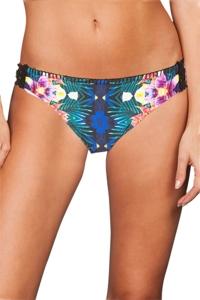 Nanette Lepore Habanera Crochet Moderate Bikini Bottom