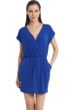 Jordan Taylor Quintessential Blue V-Neck Surplice Dress