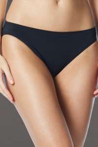Coco Rave Wild and Fringe Black Classic Bikini Bottom