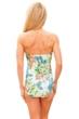 Longitude Romantic Bandeau/Halter One Piece Swimsuit