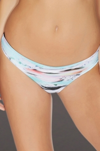 Reef Mod Wave Reversible Cheeky Bikini Bottom