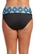 Kenneth Cole Reaction Coastal Escapade Plus Size Foldover Hipster Swim Bottom