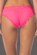 Kenneth Cole Reaction For The Frill Of It Pink Cheeky Bikini Bottom