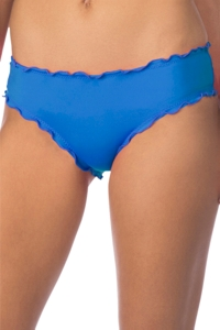 Kenneth Cole Reaction For The Frill Of It Periwinkle Cheeky Bikini Bottom