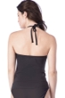 Kenneth Cole Reaction Ready to Ruffle Black Push Up Tankini Top