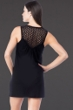Kenneth Cole Reaction Casablanca Black Crochet Tank Dress