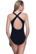 Profile Sport by Gottex Illuminate X-Back Mesh Inset One Piece Swimsuit