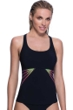Profile Sport by Gottex Illuminate Mesh Inset D-Cup Y-Back Tankini Top