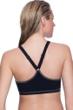 Profile Sport by Gottex DNA Black/White High Neck V-Back Bikini Top