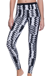 Profile Sport by Gottex White Noise UV Protective Swim Leggings