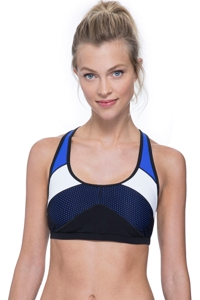 Free Sport Next Level Color Block Y-Back Bikini Top