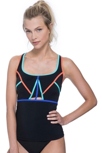 Free Sport Make Your Mark Strappy Tankini Top