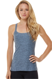 Shape Blue Xx Tank Top with Built in Bra