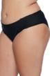 SKYE Plus Size Solid Black Suri Hipster Bikini Bottom