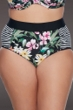 SKYE Plus Size Elysian Fields Waverly High Waist Bikini Bottom