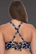 SKYE Plus Size Vestige Adley High Neck Bikini Top