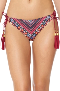 Jessica Simpson Cherokee Queen Tie Side Hipster Bikini Bottom