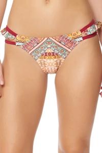 Jessica Simpson Day Tripper Ruffle Hipster Bikini Bottom