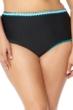 Jessica Simpson Plus Size Woodstock High Waisted Bikini Bottom