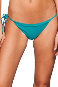 Trina Turk Gypsy Turquoise Tie Side Bikini Bottom