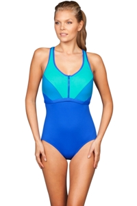 Coco Reef Ocean Barbados DD-Cup Pure Racer Zip Front Maillot