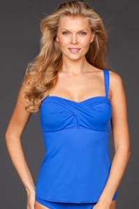 Coco Reef Ocean Master Classic D-Cup The Five Way Underwire Tankini Top