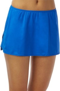 Coco Reef Blue Side Slit Swim Skirt