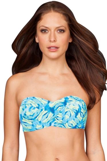 Coco Reef Blue DD-Cup Amazon Convertible Underwire Bikini Bra
