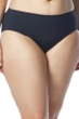 Coco Reef Plus Size Solid Black High Waist Tankini Bottom
