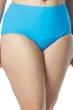 Coco Reef Plus Size Solid Blue High Waist Tankini Bottom