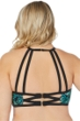 Raisins Curve Plus Size Good Dharma Playa Macrame High Neck Bikini Top