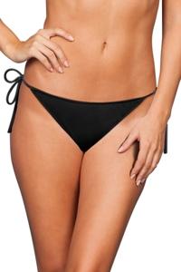 Zali Black String Bikini Bottom