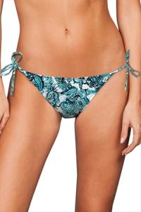 Zali Peacock Bandana String Bikini Bottom