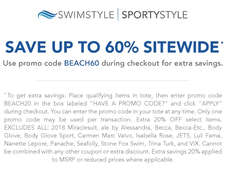 Coupons cyberswim