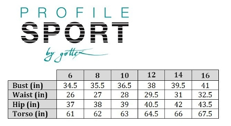 242d15454c47e Missy Profile Sport One Piece S882L124-086|SWIMSTYLE