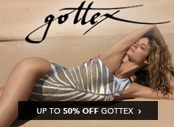 Gottex Up To 50% Off Billboard