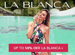 La Blanca Up To 50% Off Billboard