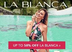 La Blanca Up To 50% Off Billboard