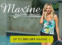 Maxine of Hollywod Up To 50% Off Billboard