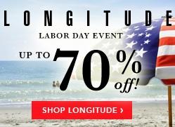 Longitude Up To 70% Off Billboard